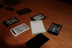 E-Reader, Tablets und ein Notebook © eBookCamp