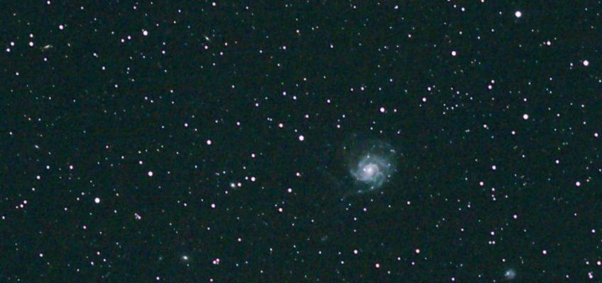 """Pinwheel Galaxy revisited (200mm; ISO12800; untracked)"" von äquinoktium"