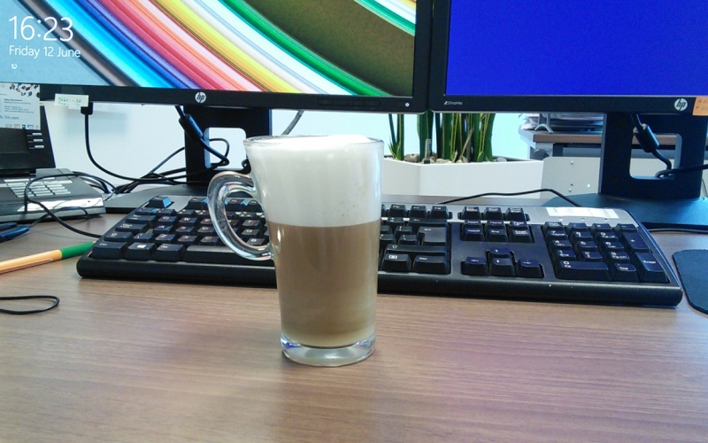 Kaffeestärkung