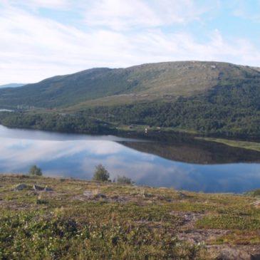 Trekking in Lappland: die große Freiheit