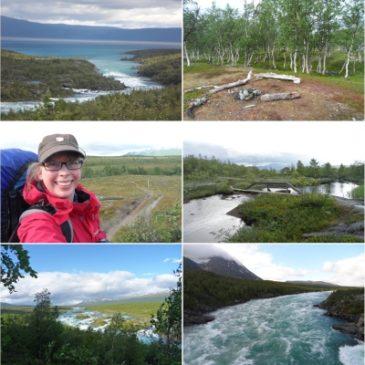 #12von12 im August 2015: mein erster Trekking-Tag in Lappland