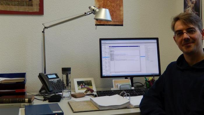 Jonas Richter at work