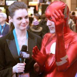 DiddyOh: Flash getting interviewed