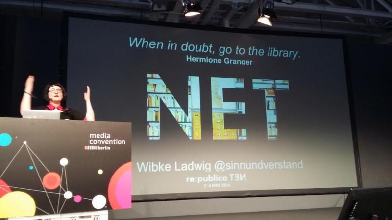 re:publica 2016: Wibke Ladwig