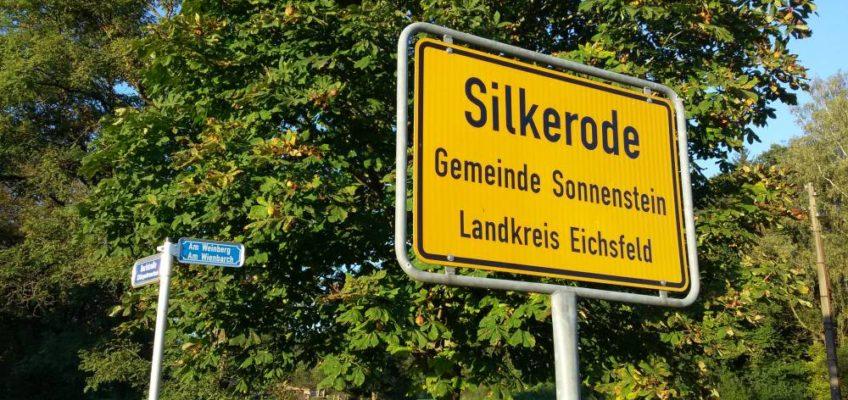 Ortseingang von Silkerode