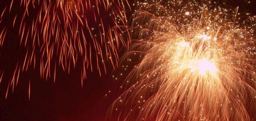 William Warby: fireworks
